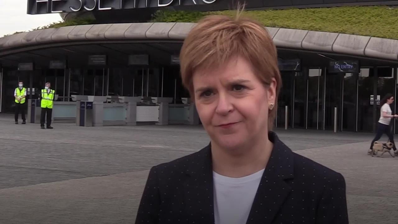 Nicola Sturgeon says people can afford to be optimistic as travel restrictions ease in Scotland