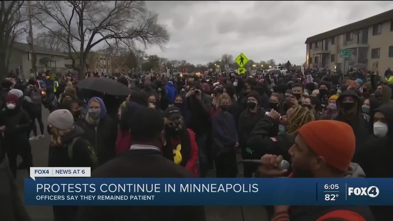 Protests continue in Minneapolis