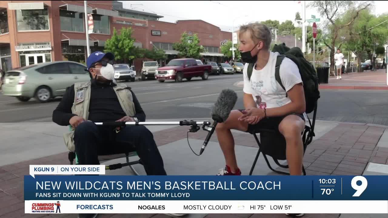 How do fans feel about UArizona's new men's basketball coach?