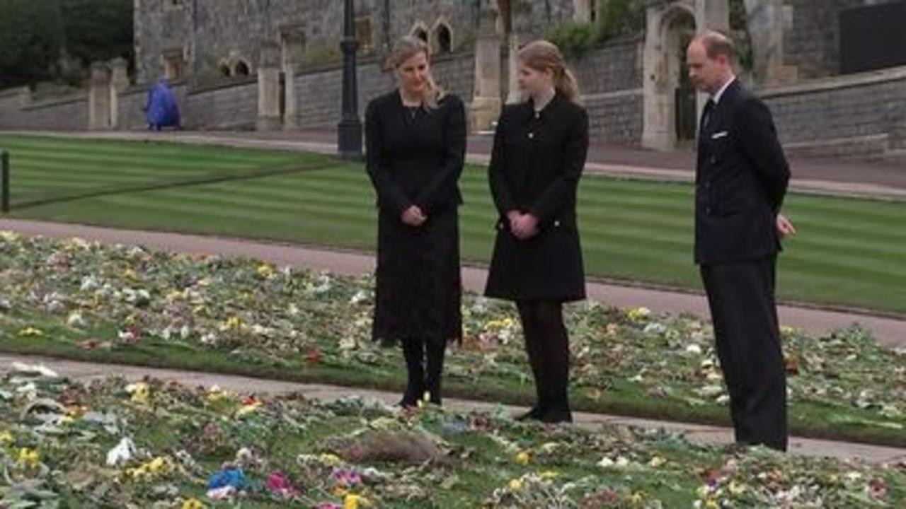 Prince Philip: Edward & Sophie read tributes