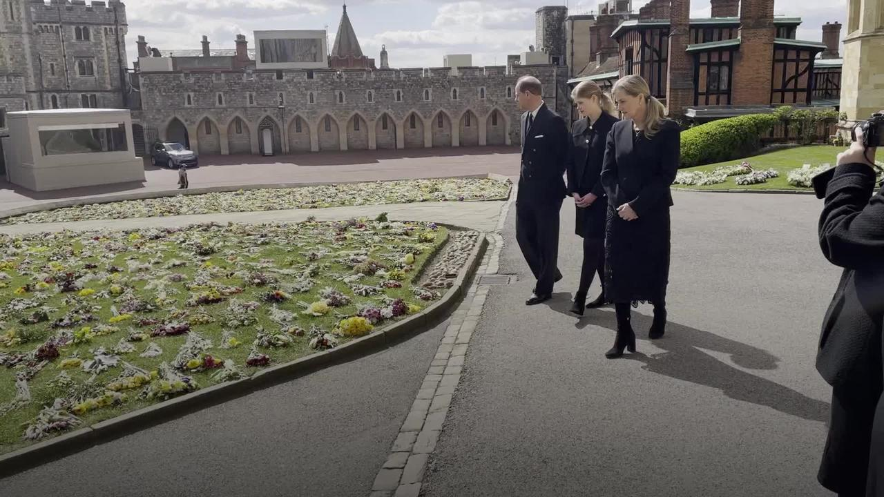 Wessexes view public tributes to Duke of Edinburgh