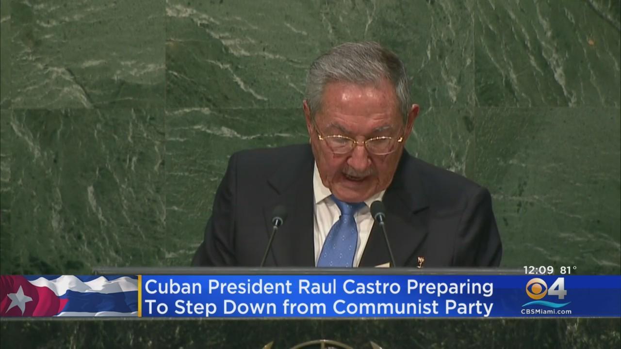 Cuba's Raul Castro Preparing To Step Down