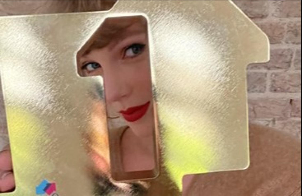 Taylor Swift breaks The Beatles' chart record