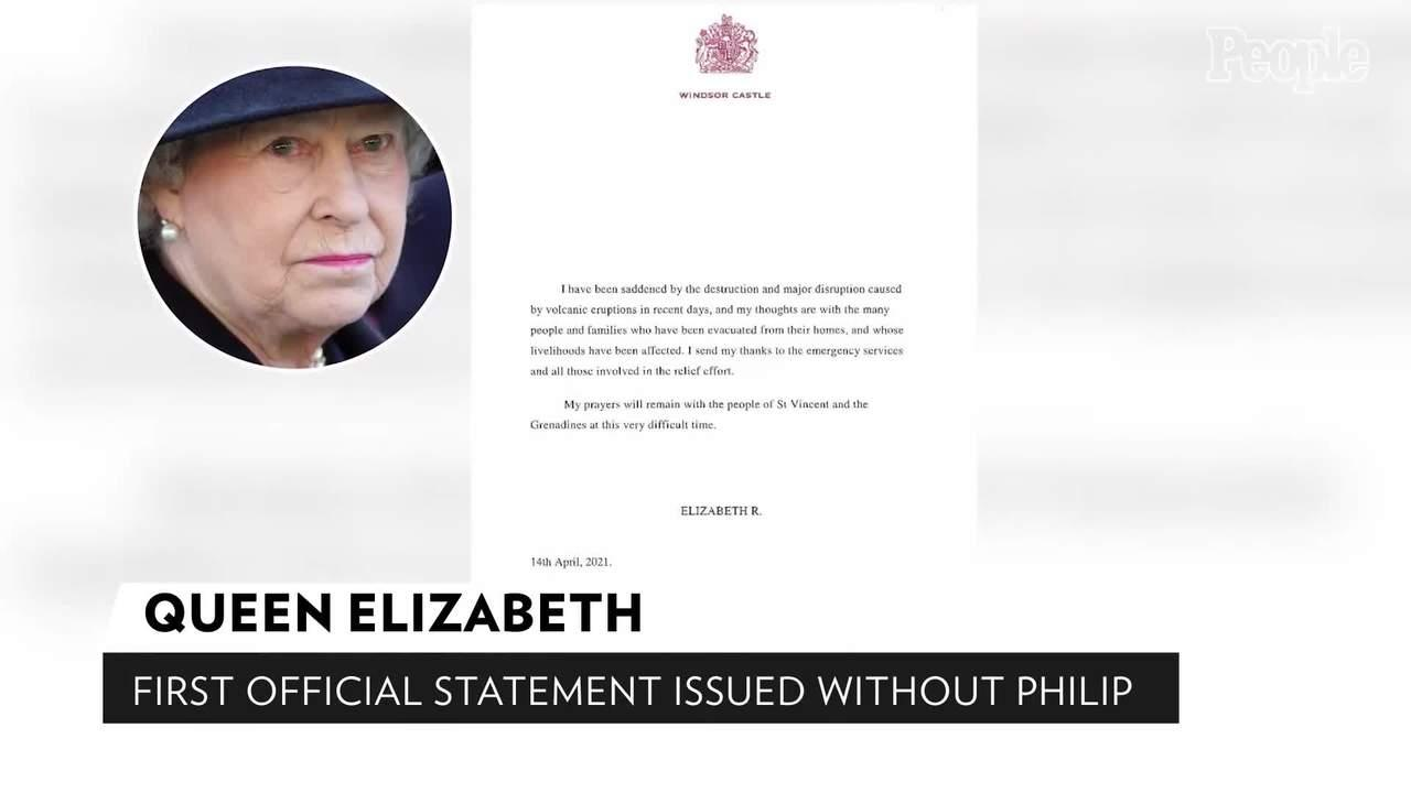 Queen Elizabeth Releases Her First Official Statement That Doesn't Include Prince Philip