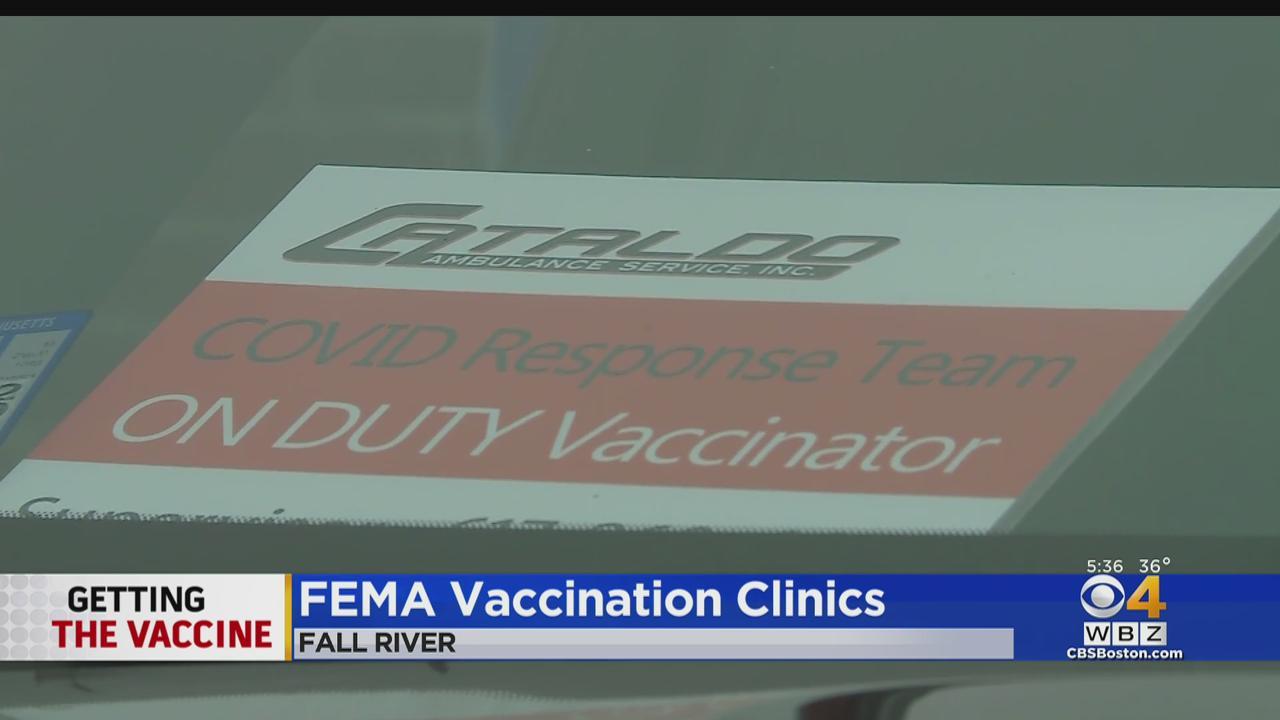 FEMA Begins Vaccination Clinics In Fall River