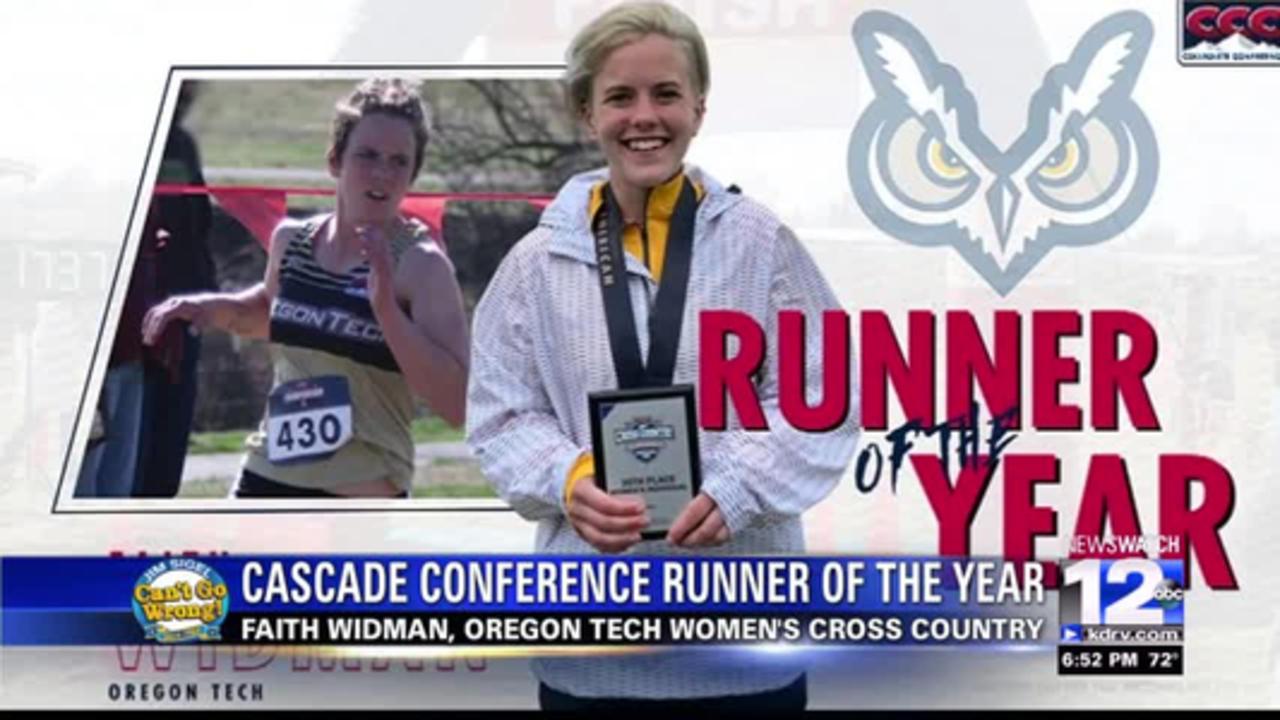 Tech's Faith Widman wins CCC Runner of the Year