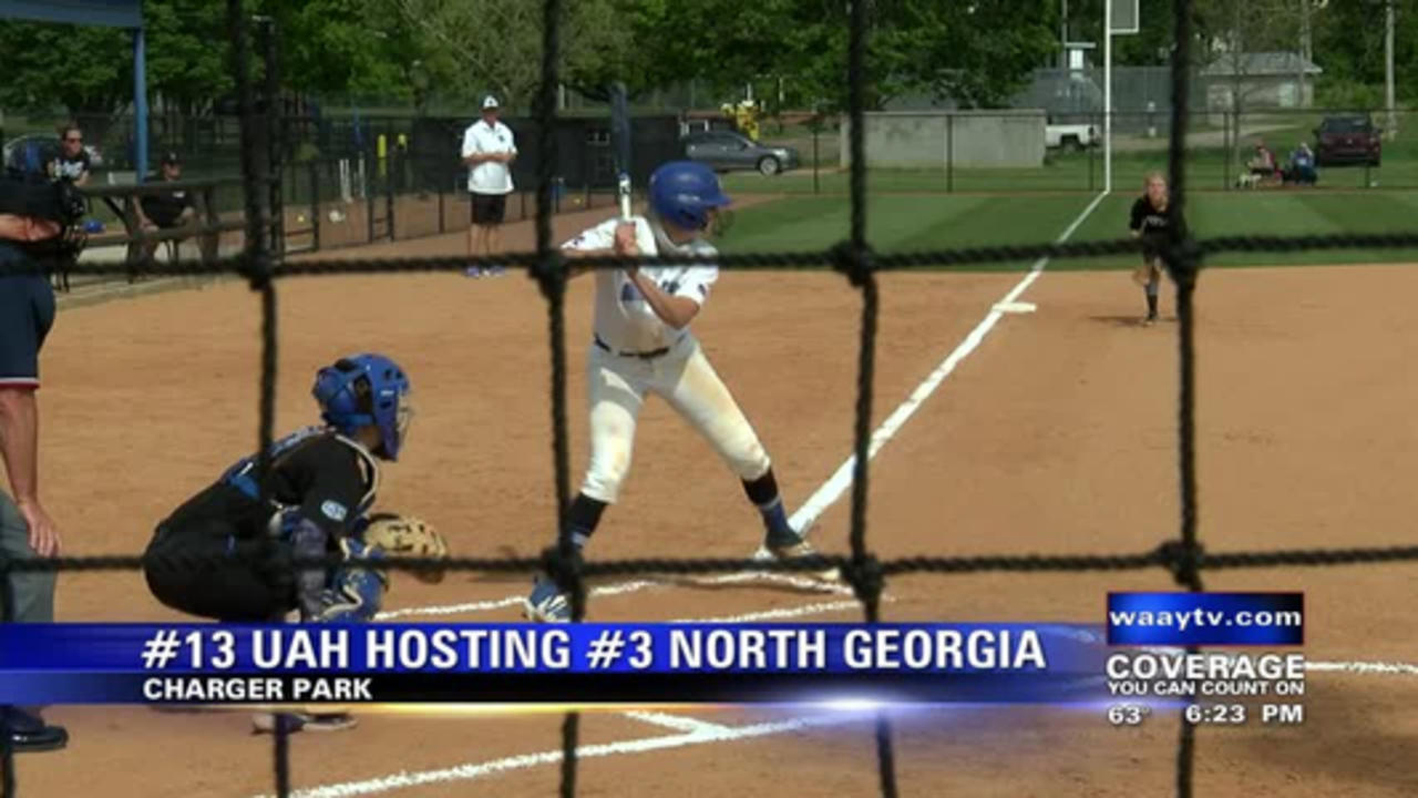 UAH splits doubleheader with North Georgia