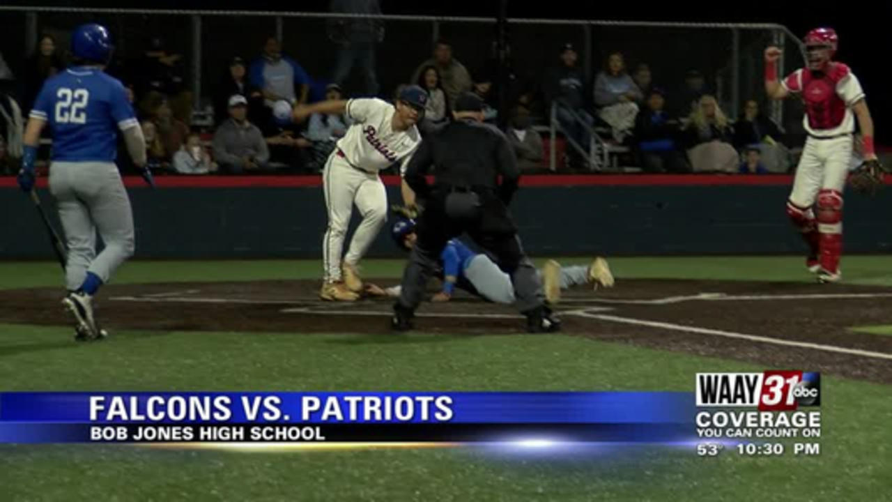 Falcons grab area lead with split