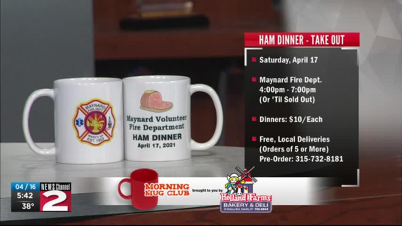 Mug Club: Maynard Fire Dept. Hosting Ham Dinner