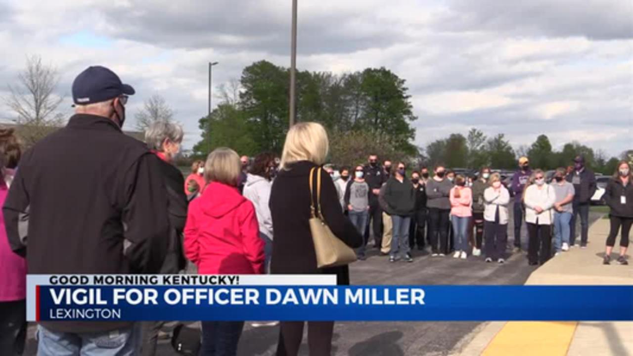 Officer Dawn Miller Prayer Vigil 4/16/2021