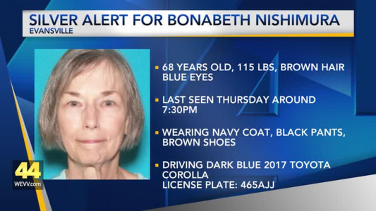 Silver Alert Issued for Evansville Woman
