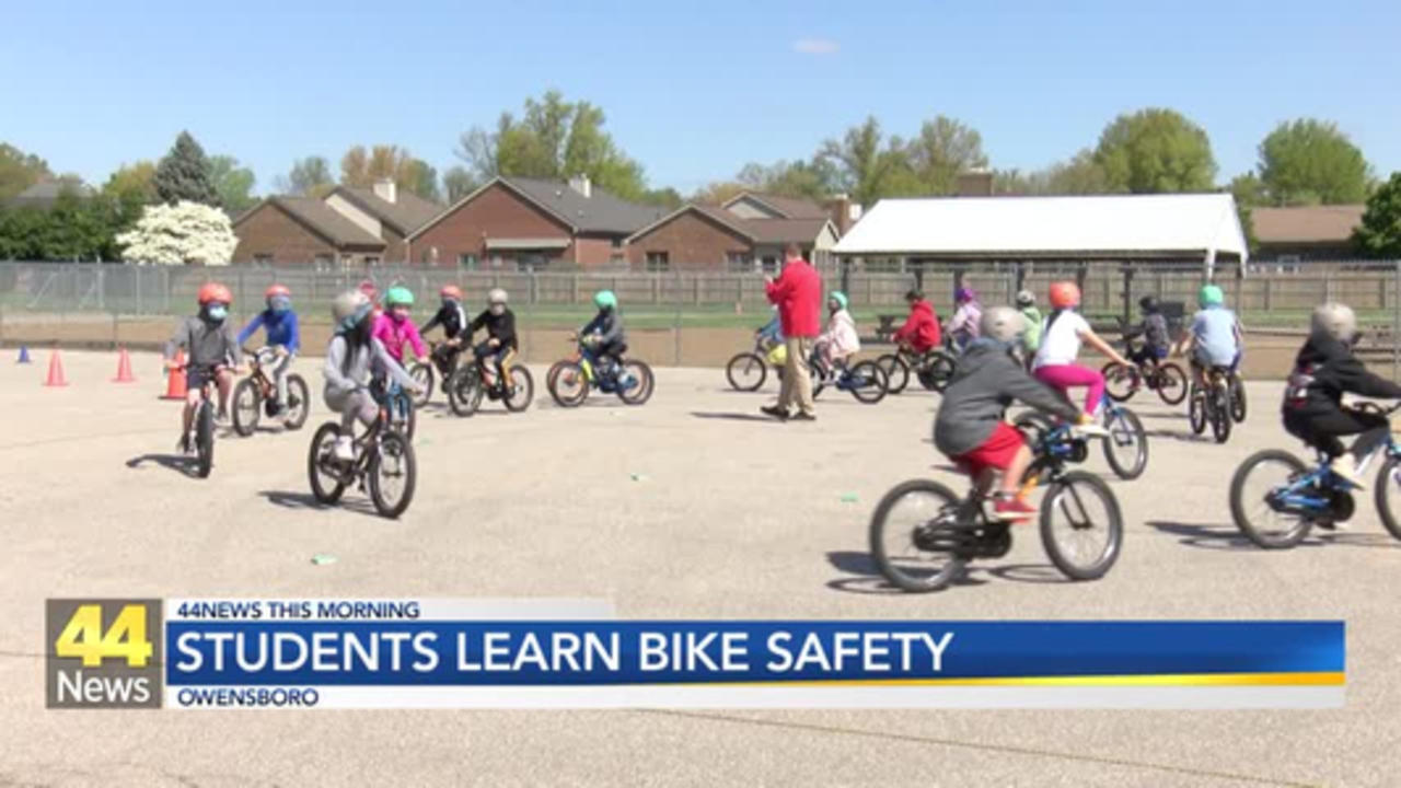 Sutton Elementary School Students Participate in 'Bike Safety Rodeo'