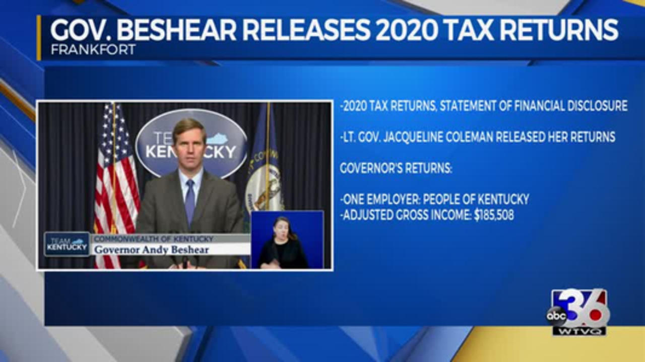 Governor Releases Tax Returns 4/16/2021