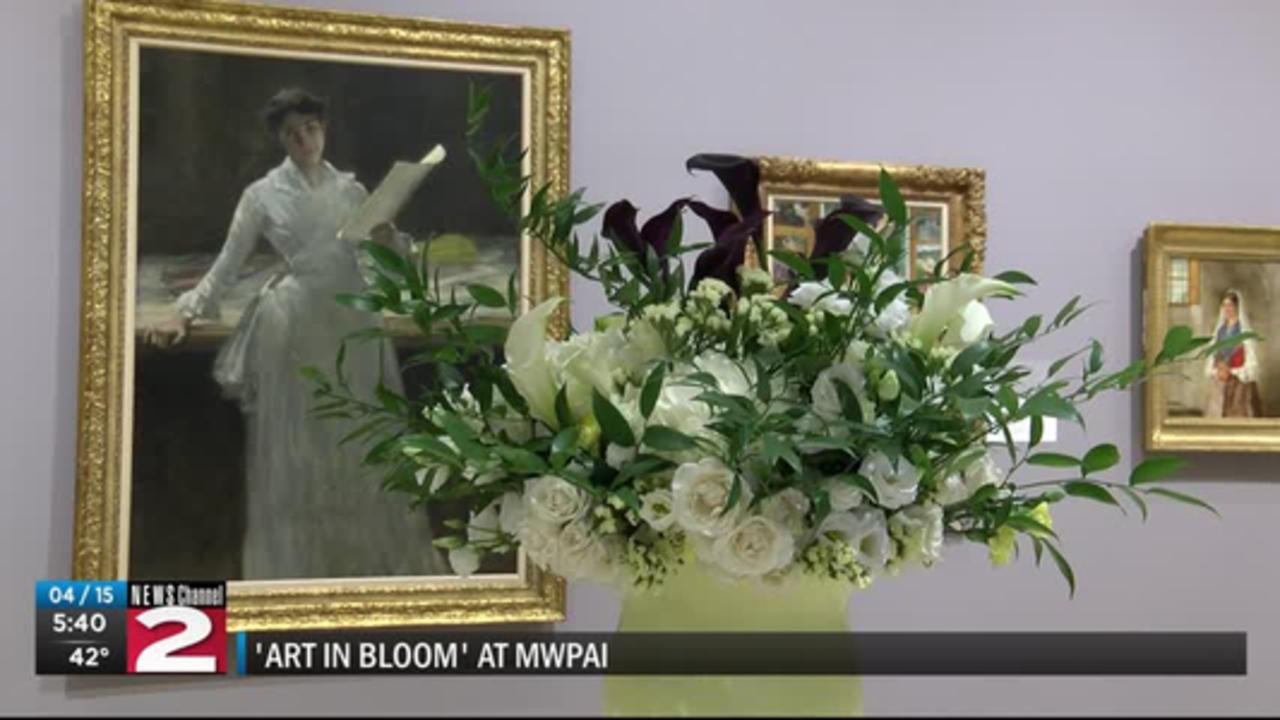 'Art in Bloom' exhibit at MWPAI