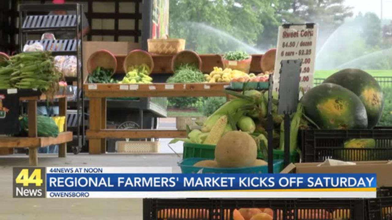 Owensboro Regional Farmers' Market to Open 2021 Season Saturday
