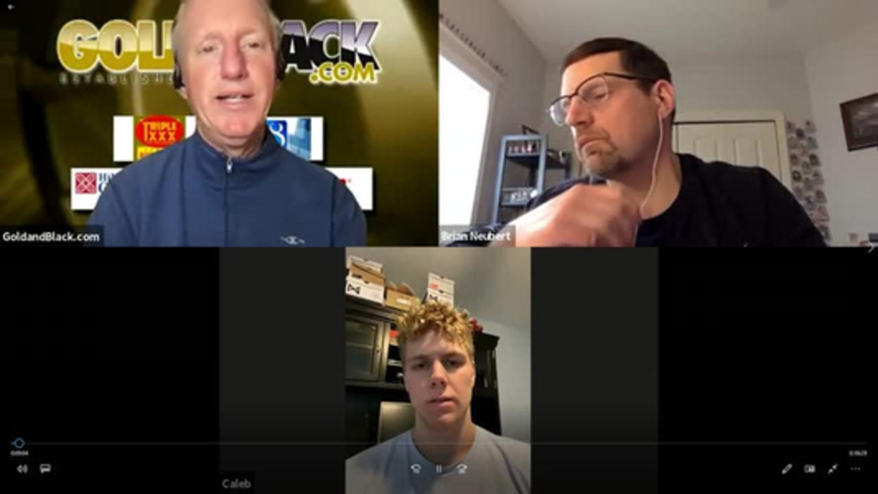 Gold and Black LIVE April 16 Segment 2 with Caleb Furst