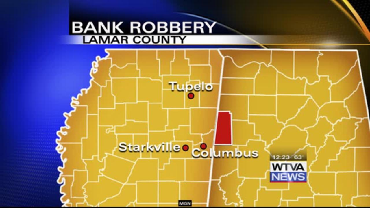 Sulligent bank robber received prison sentence