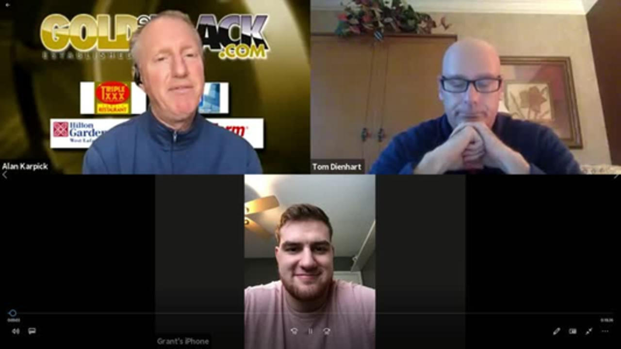 Gold and Black LIVE April 16 Segment 3 with Grant Hermanns.
