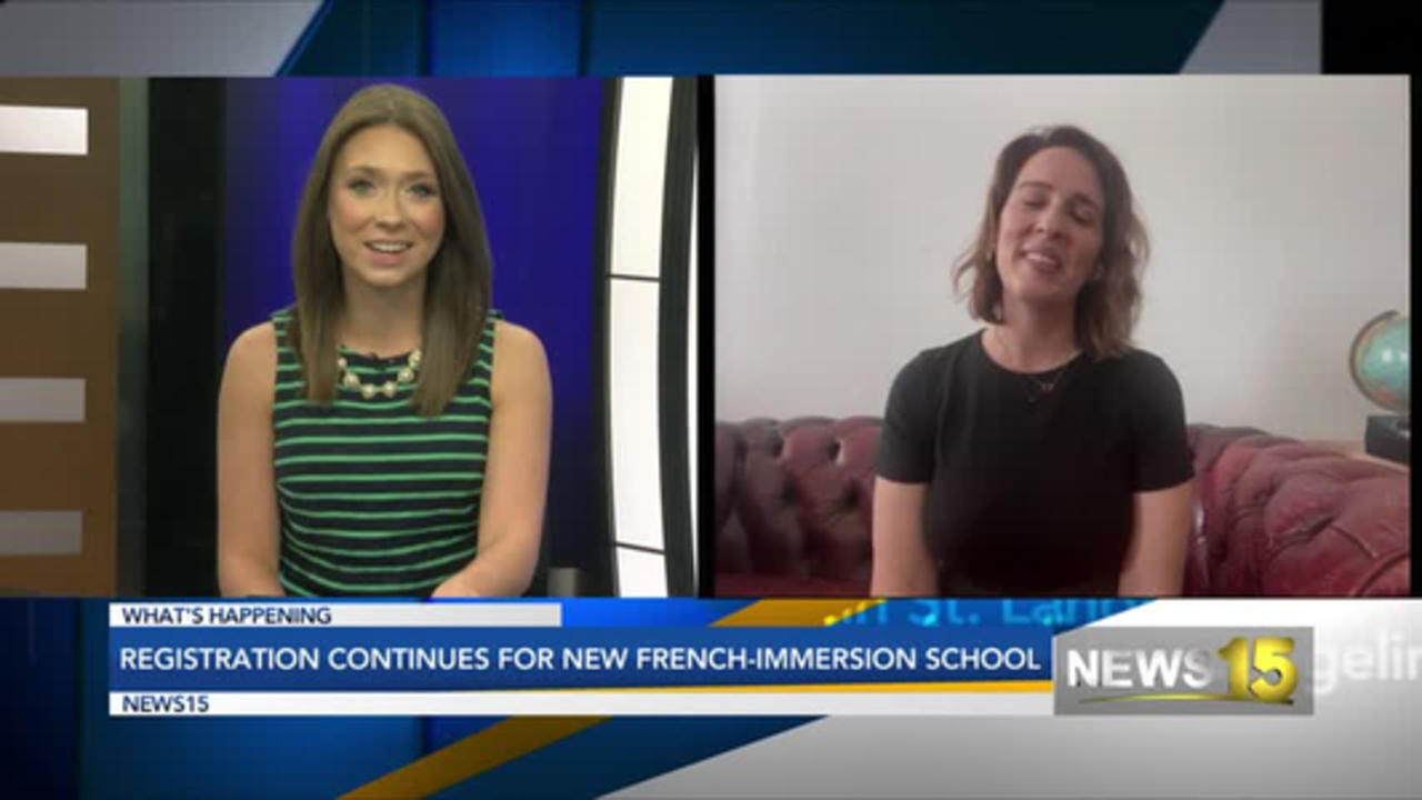 Registration For New French Immersion School Ongoing