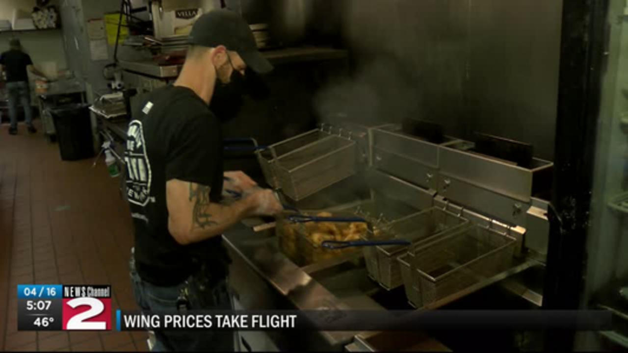 chicken wing prices take flight