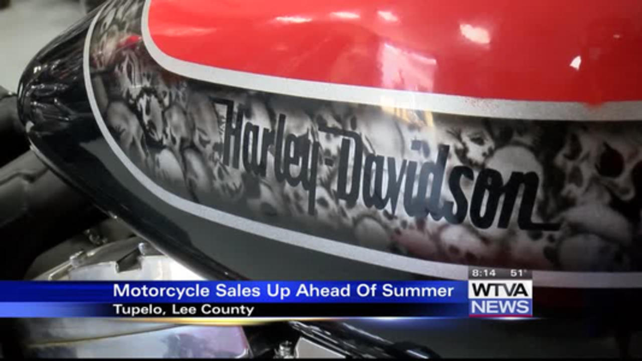 Motorcycle sales up ahead of summer