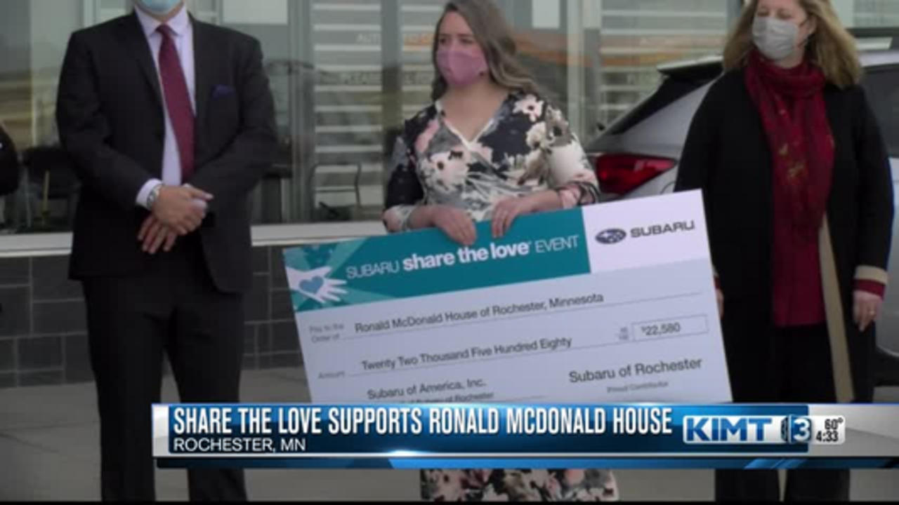 Share the Love supports Ronald McDonald House
