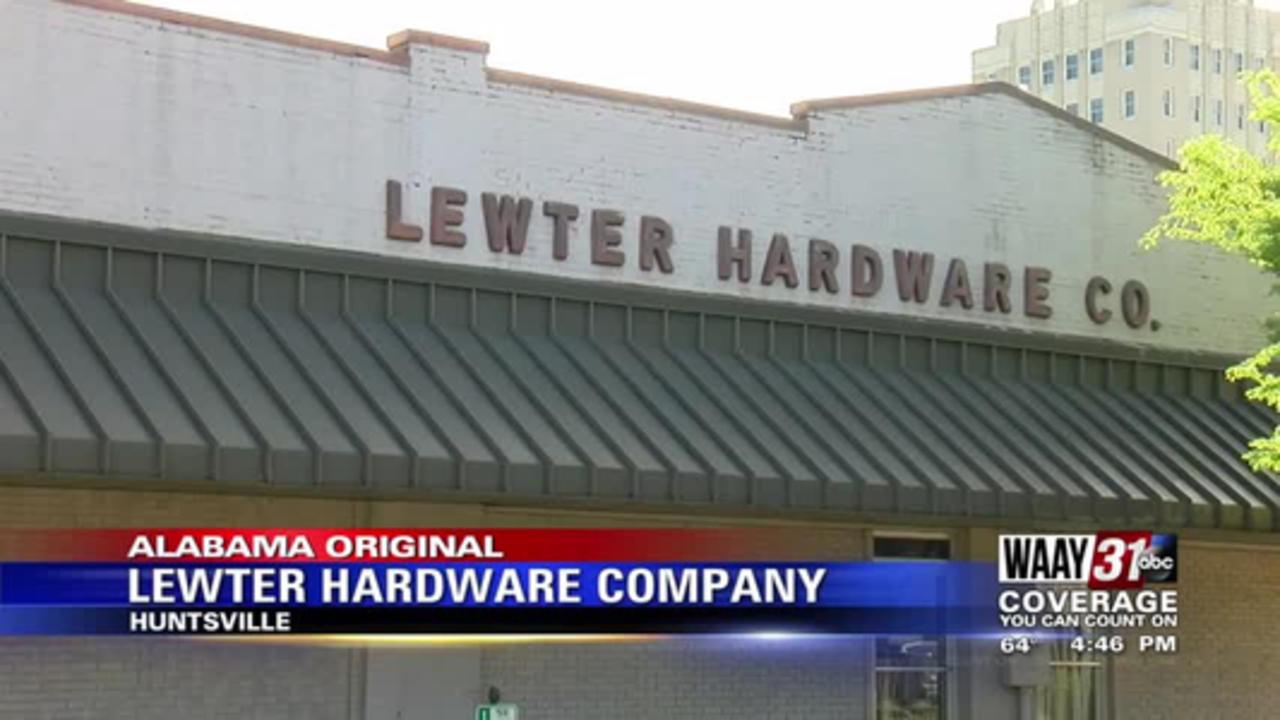 Alabama Original: Lewter Hardware Company