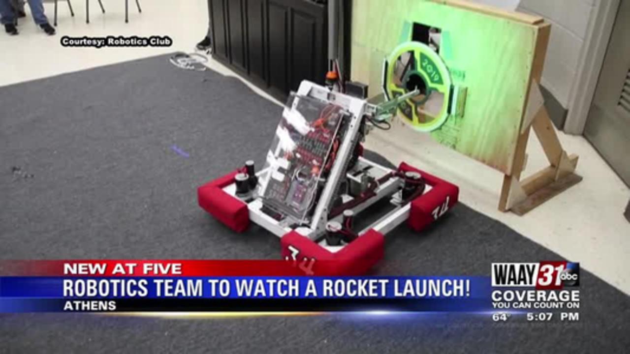 Robotics Team to Watch a Rocket Launch