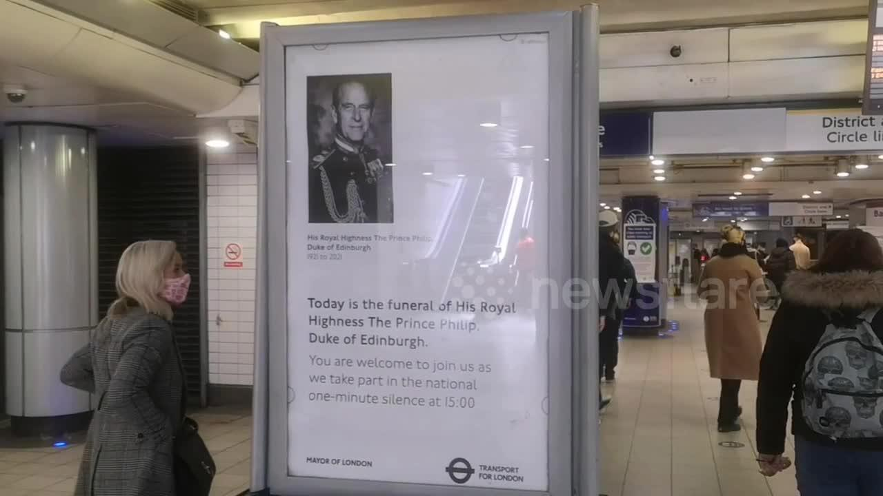 London Paddington Station to observe one-minute silence for Prince Philip