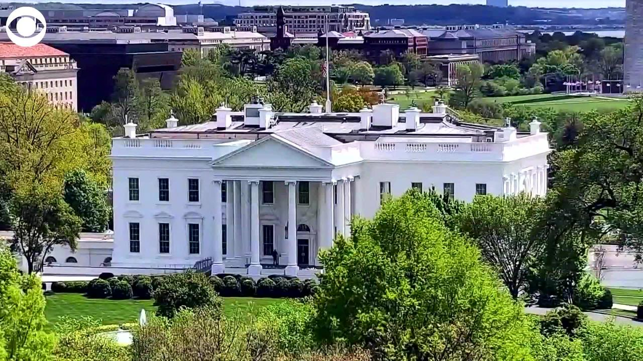 WEB EXTRA :White House Flag At Half-Staff For Victims Of A Shooting At A FedEx Facility In Indianapolis