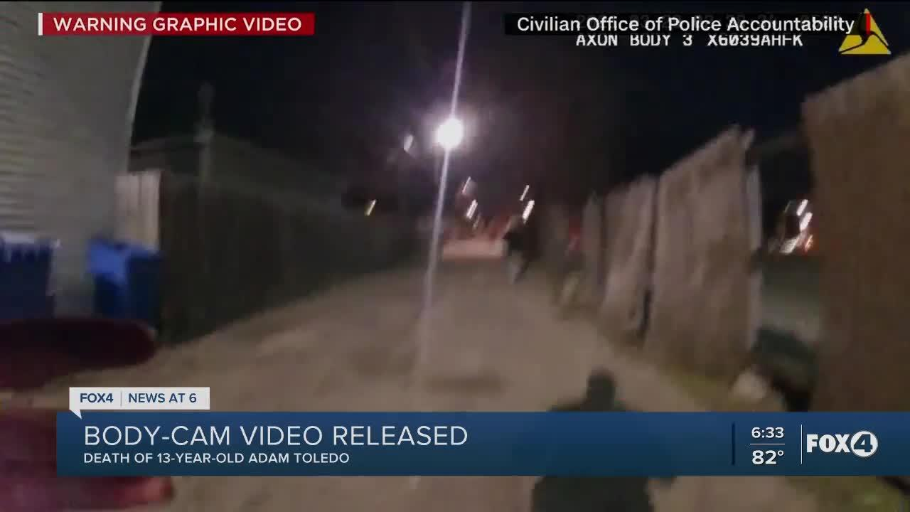 Adam Toledo shooting: Peaceful demonstrations take place in Chicago following release of video