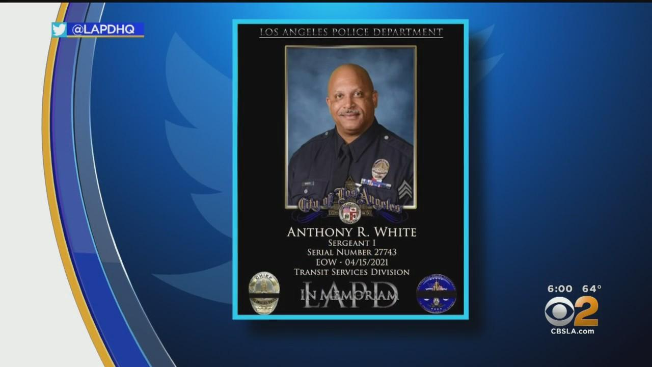 LAPD Sgt. Anthony White Dies From Complications Of COVID-19