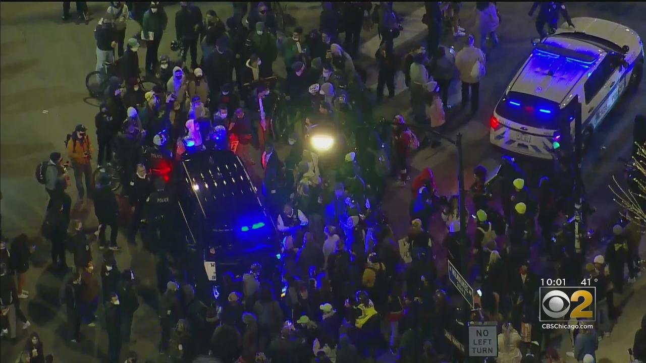 Protesters Pack Logan Square Over Police Shooting Of Adam Toledo