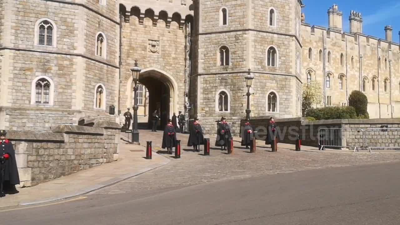 Atmosphere in Windsor for Prince Philip's funeral