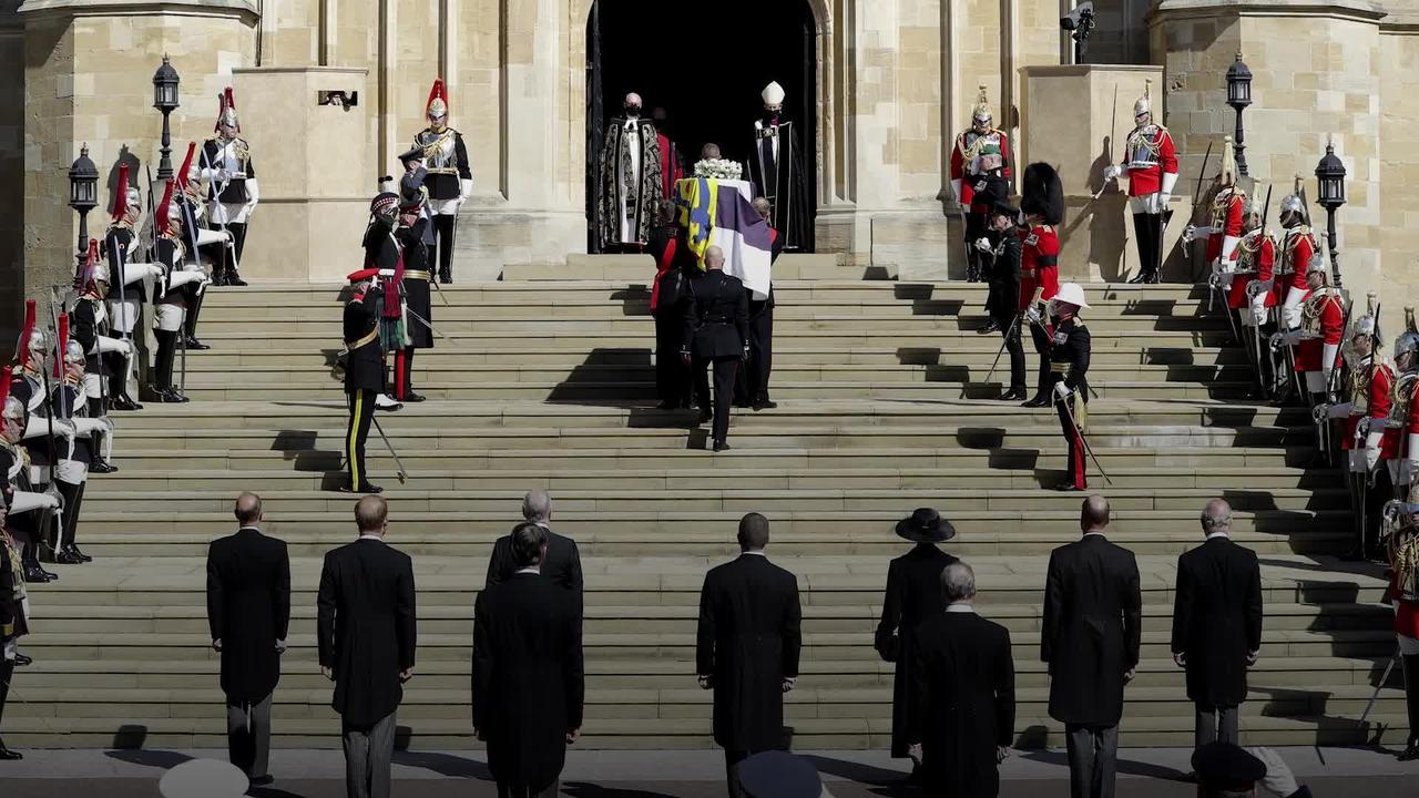 UK falls silent to remember Duke of Edinburgh
