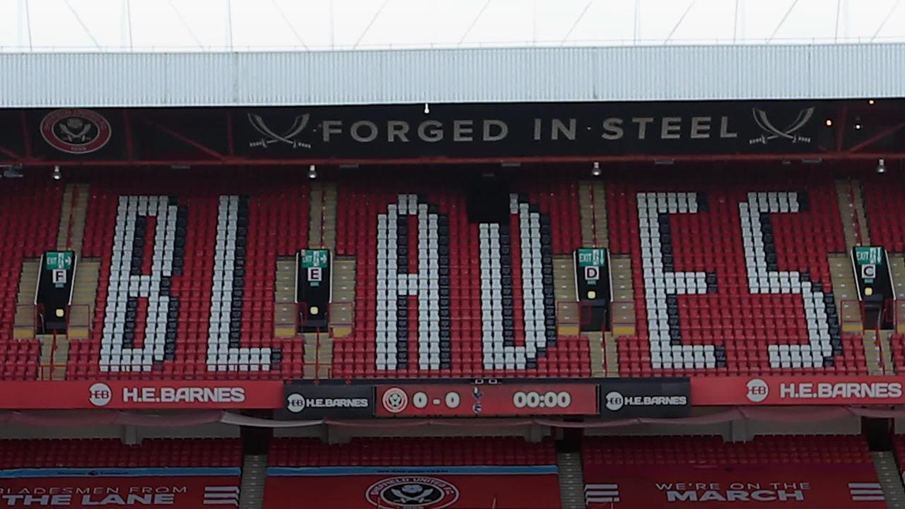 Sheffield United relegated from the Premier League