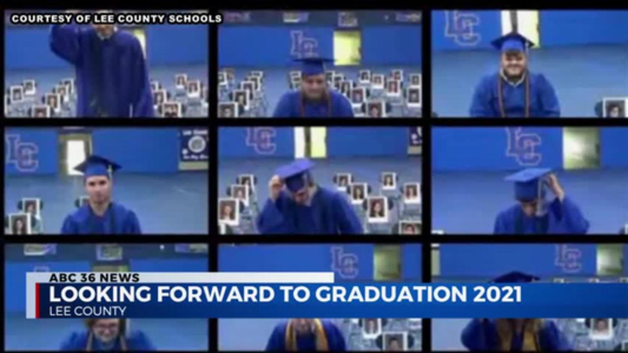 Lee county graduation 4.16.21