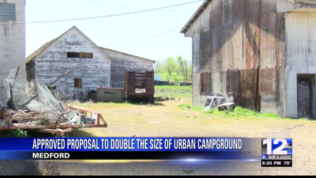 Medford City Council approves proposal to double the size of urban campground