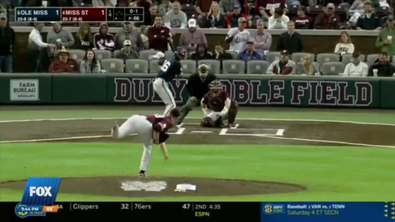 NCAA Baseball: Mississippi State vs. Ole Miss