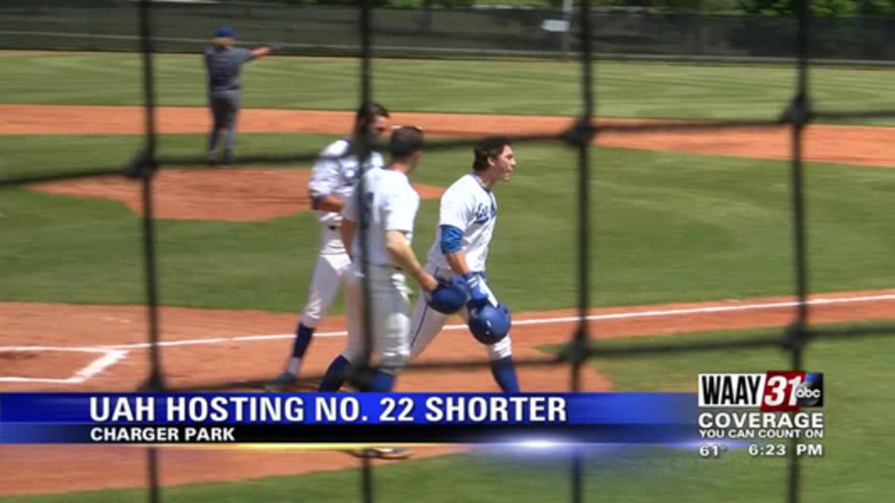 UAH earns split against No. 22 Shorter