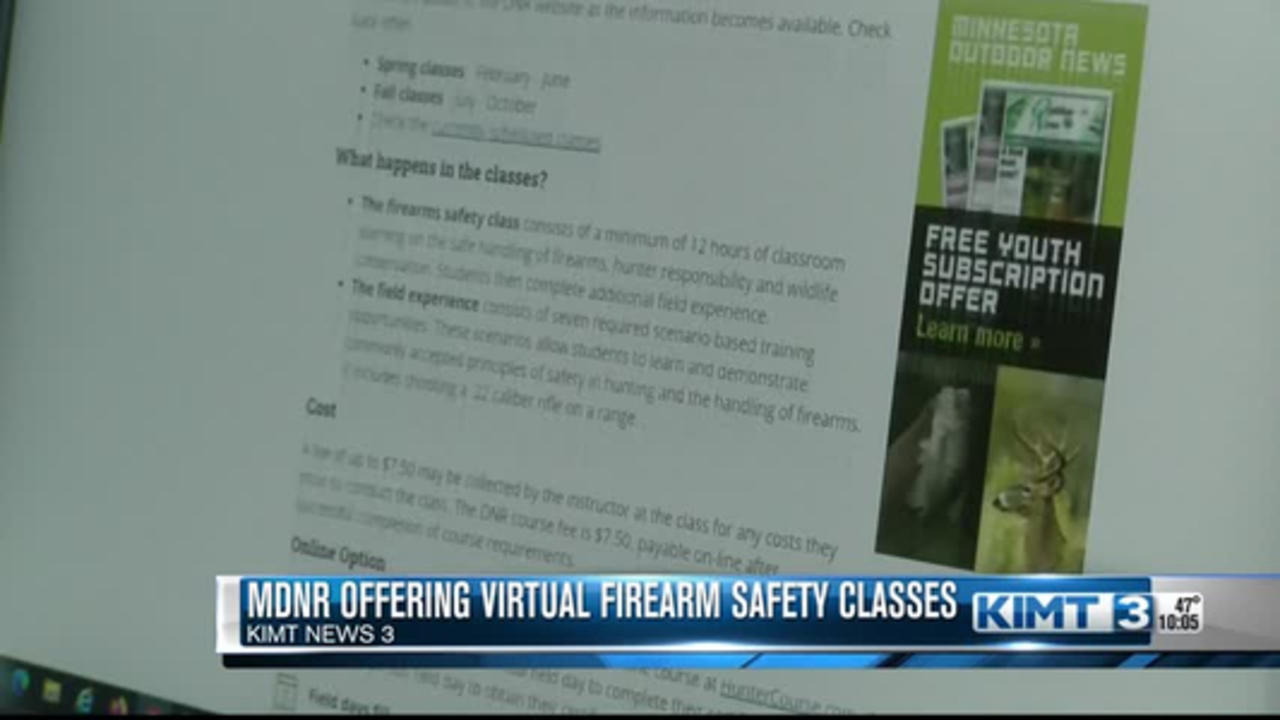 Minnesota DNR offering virtual firearm safety classes for youth
