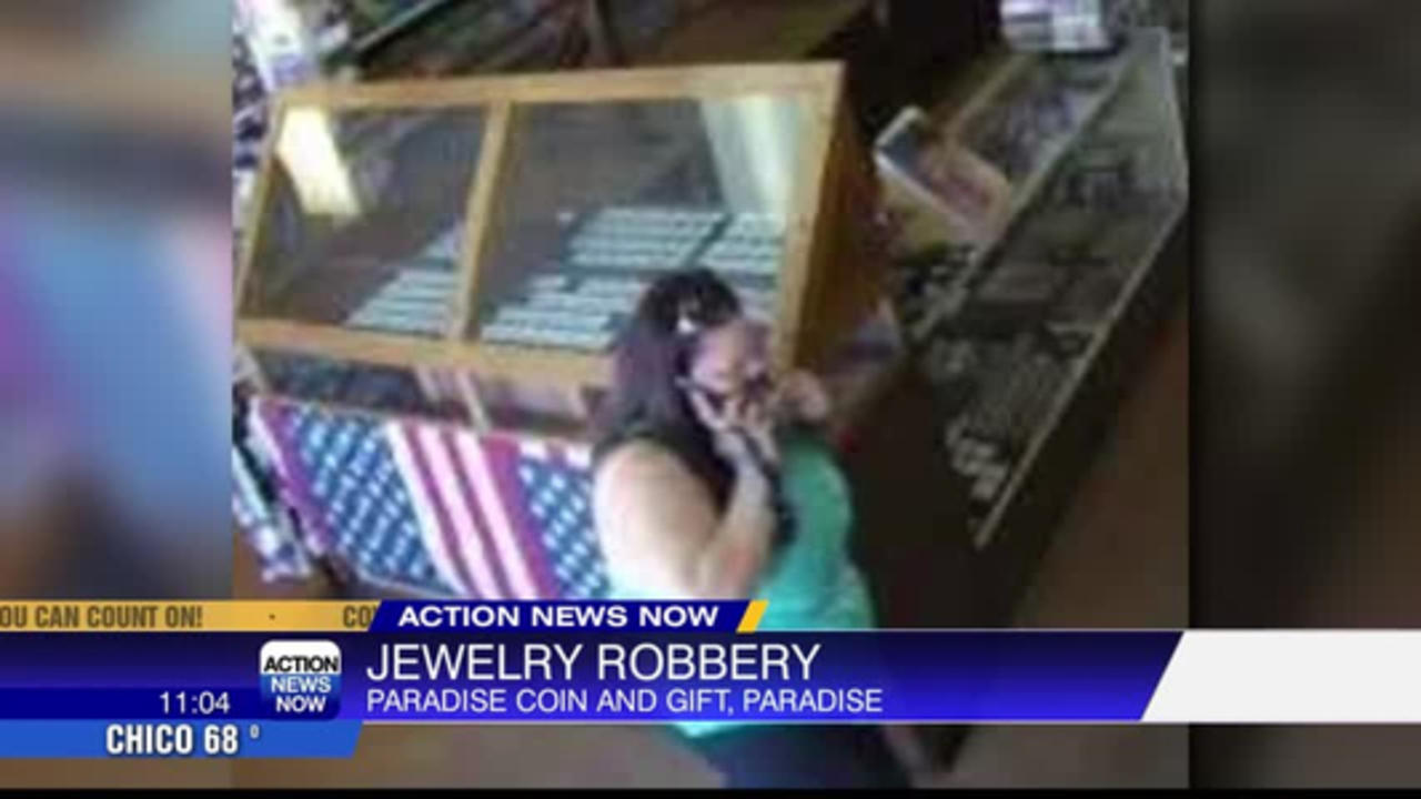 Thieves stole jewelry from Paradise Coin and Gift