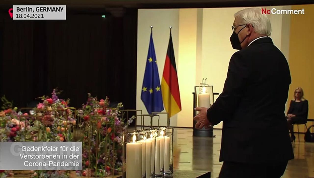 Germany mourns its 80,000 Covid dead at memorial