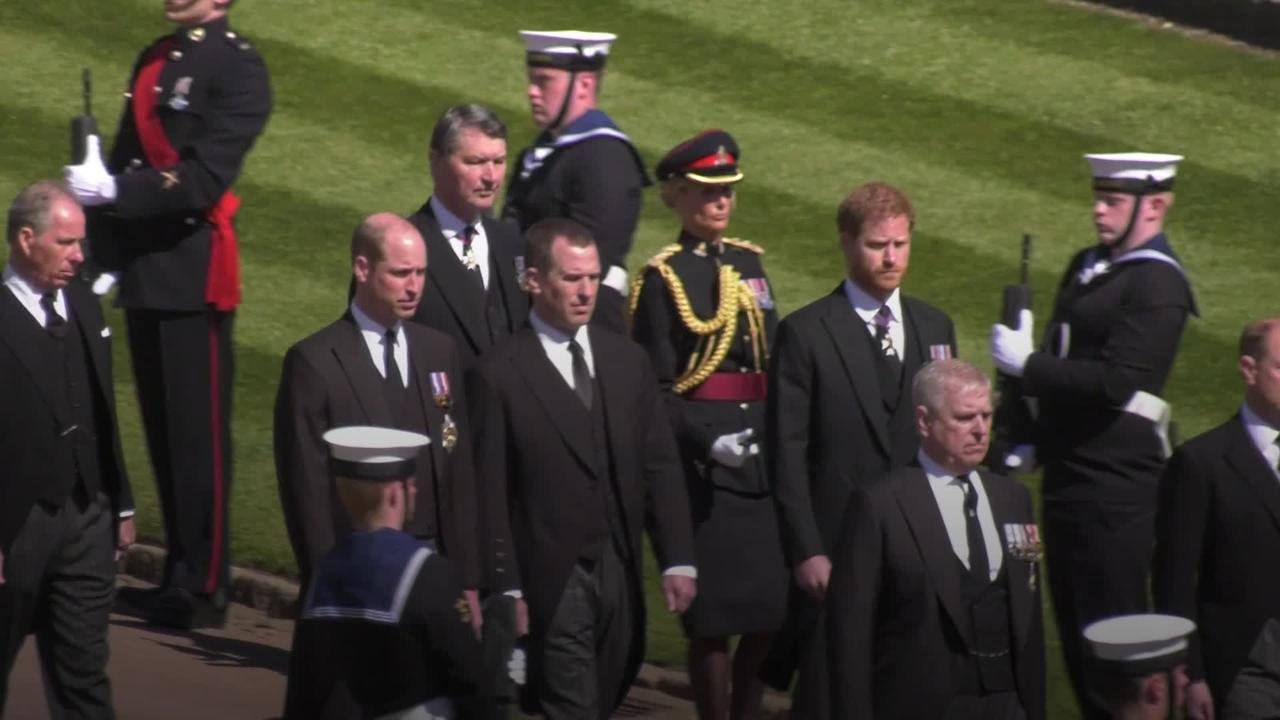 Royal family continue to grieve Philip's death as national mourning ends