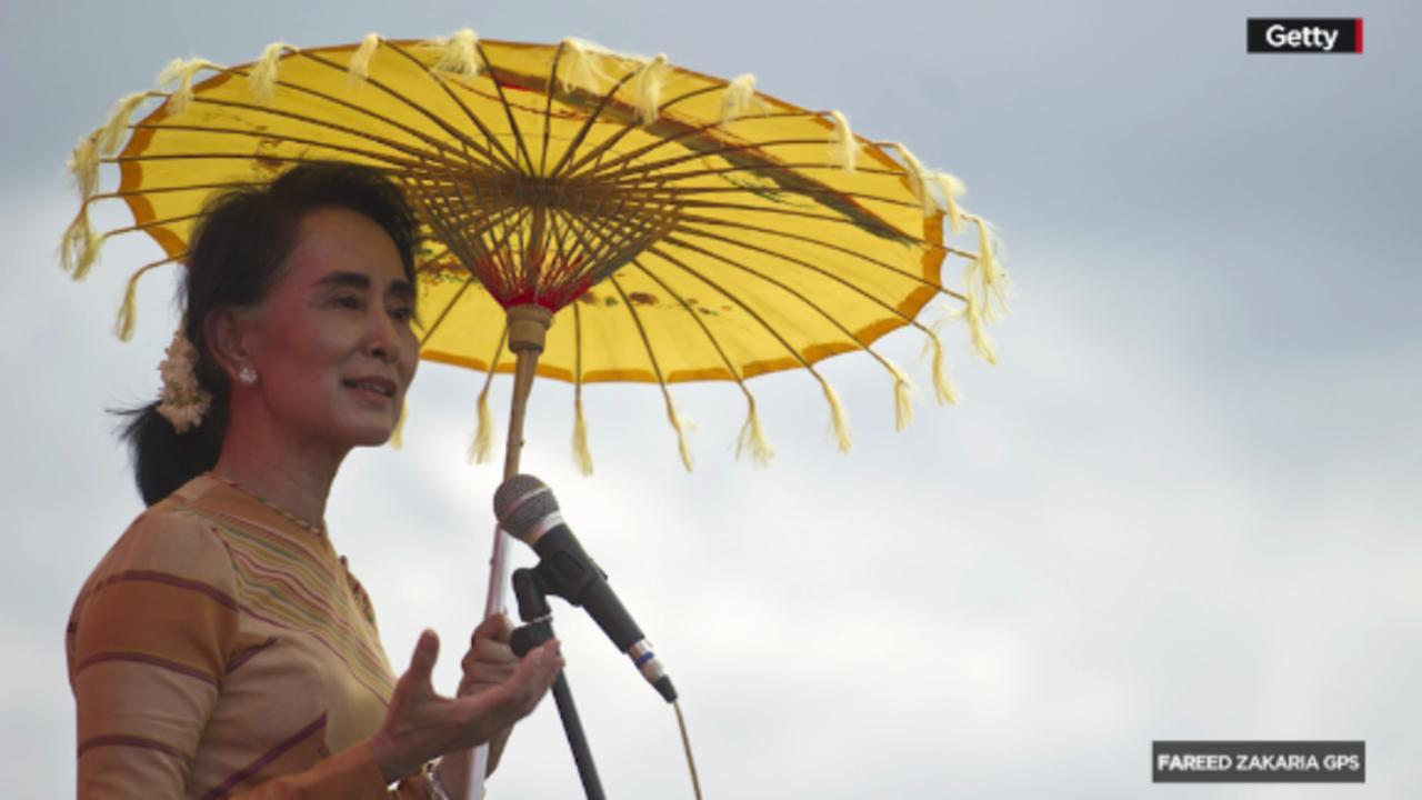 GPS Web Extra: Clarissa Ward on Aung San Suu Kyi