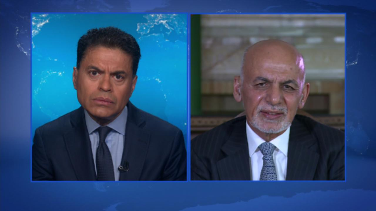 GPS Web Extra: Pres. Ghani on stability in Afghanistan