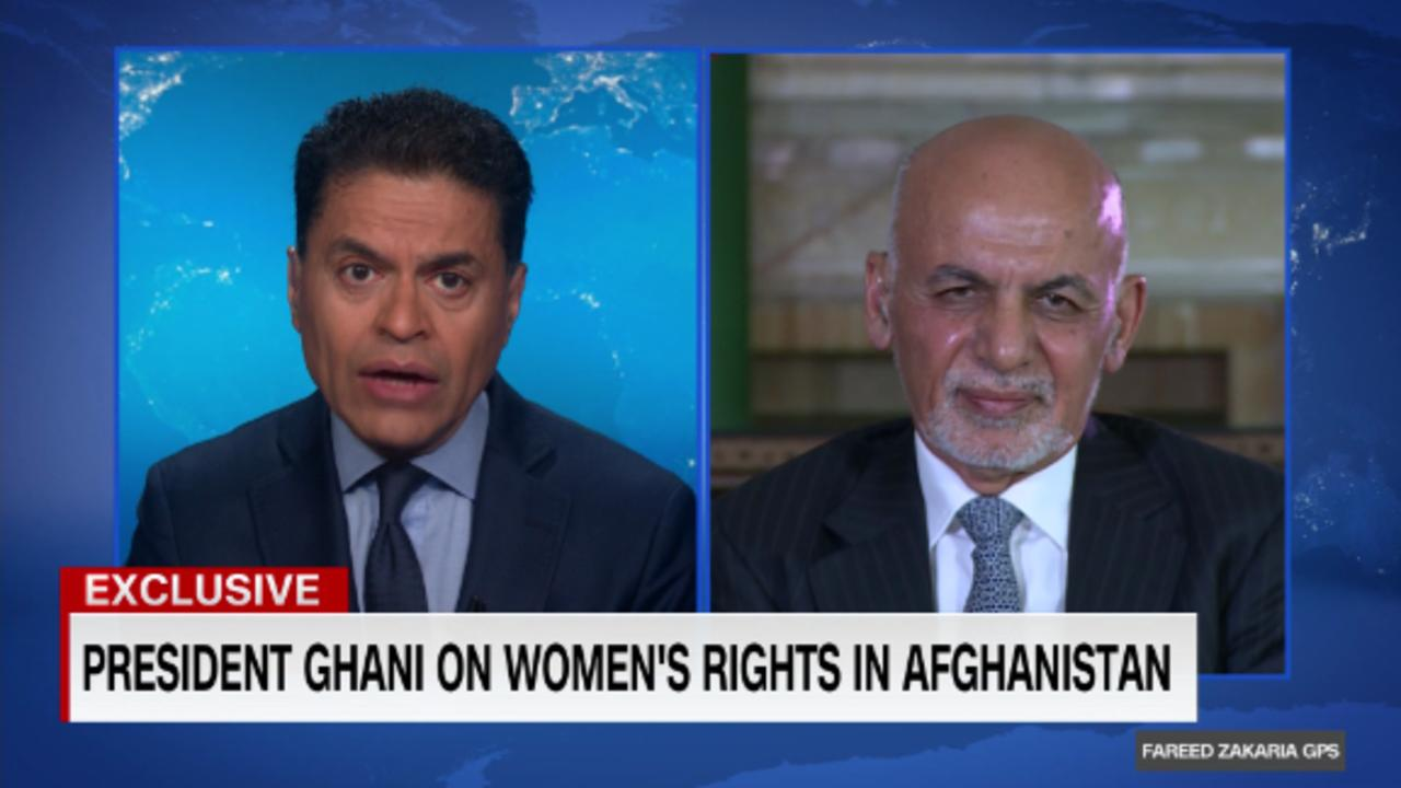 GPS Exclusive: President Ghani on Afghanistan's future