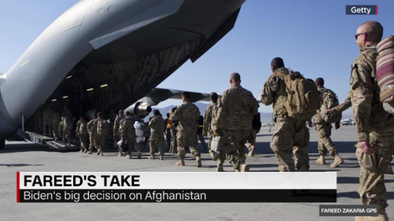 Fareed: Withdrawing from Afghanistan is the right move