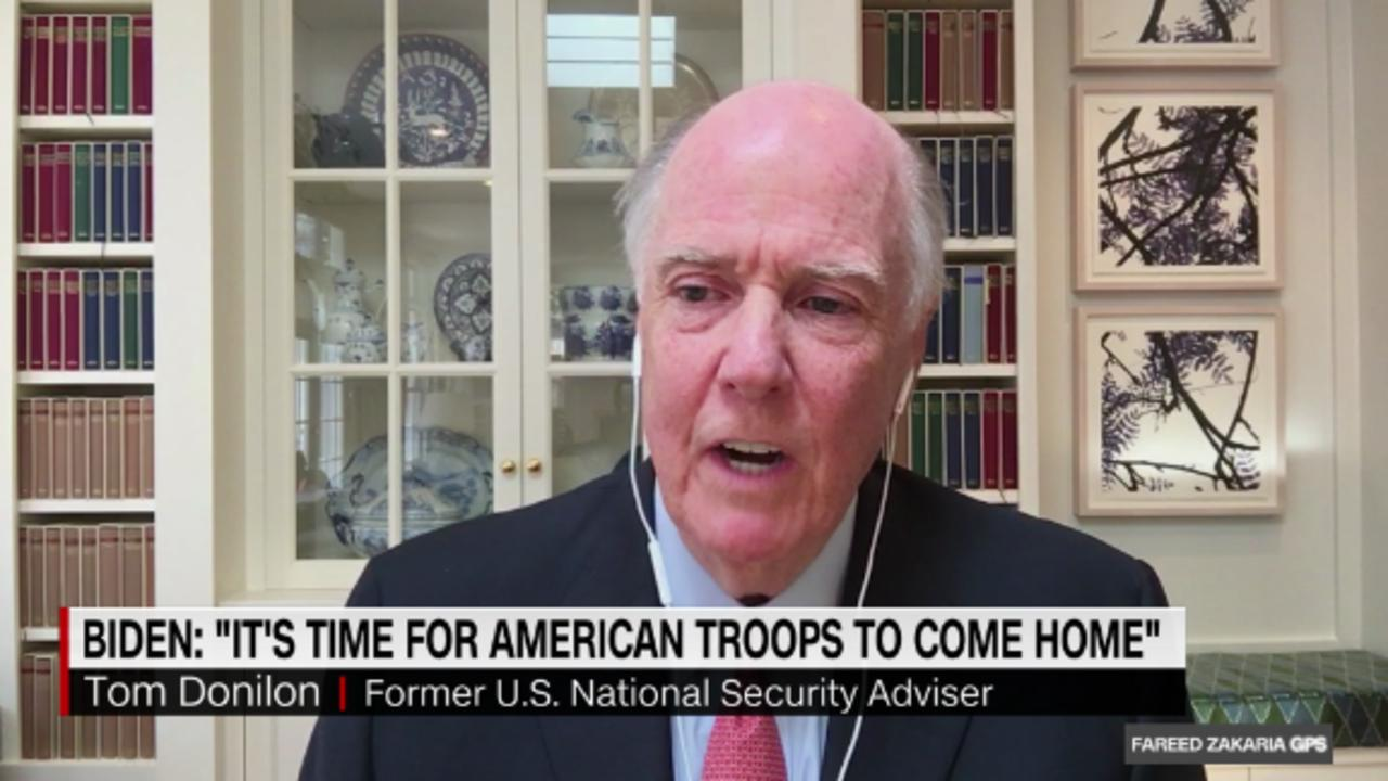 On GPS: Tom Donilon on Afghanistan withdrawal