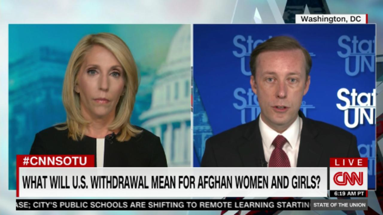 National security adviser on Afghanistan's future after US pullout